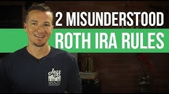 2 things people misunderstand about the Roth IRA for retirement.