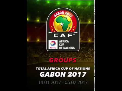CAN 2017 Gabon Groups