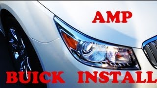 How to Install a Stereo Amplifier into Any GM Car or Truck
