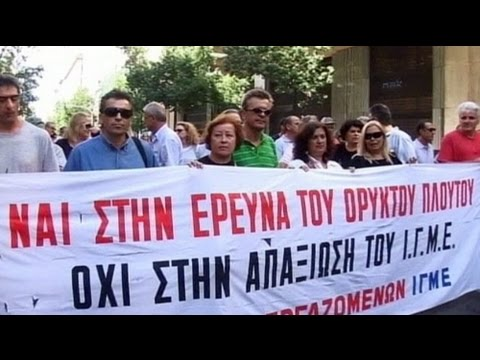Greeks dying from financial despair