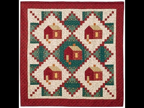 Log Cabin In The Woods Quilt Video By Sharlene Jorgenson