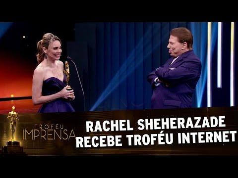 Troféu Imprensa 2017 - Rachel Sheherazade recebe Troféu Internet de melhor jornalista