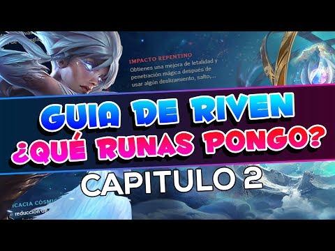 ¡Estas son las MEJORES RUNAS para RIVEN! • Guia Riven Season 8 Captiulo 2 • KERIOS