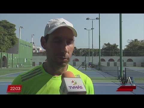Santiago González en el Tercer Grand Slam del Calendario Mundial de Tenis, en Wimbledon
