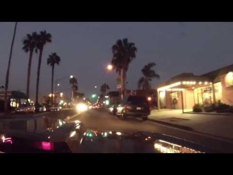 1968 RS Camaro Passenger POV GoPro hero 3 dash cam. San Diego drive from the mountains to the beach