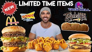 *New Limited Items* Double Big Mac, Triplelupa , Totachos, and more! | Food Review