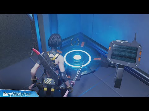Step onto a Body Scanner Location - Fortnite