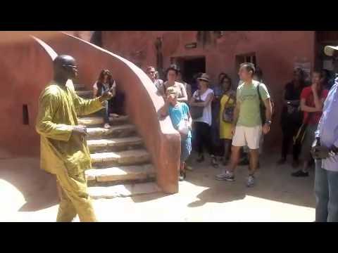 Visite a de L'ile De Goree, Dakar, Senegal