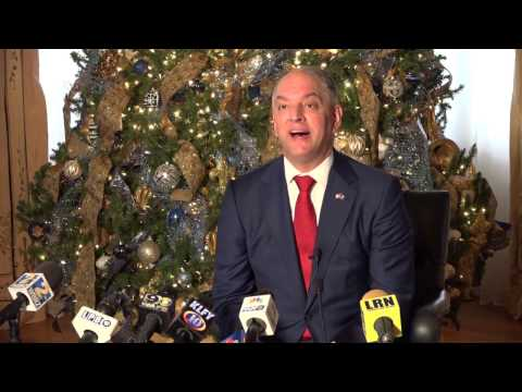 Governor John Bel Edwards'  End of the Year Press Conference