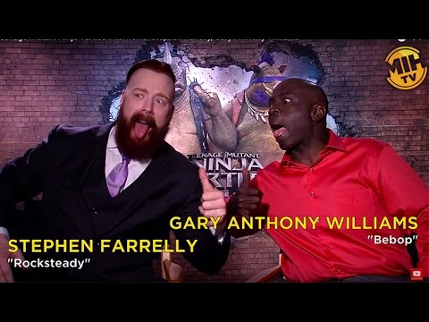 Teenage Mutant Ninja Turtles Interviews: Stephen Farrelly, Gary Anthony Williams