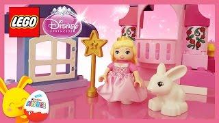 LEGO Duplo - Aurore la Belle au bois dormant et son château - Princesses Disney - titounis