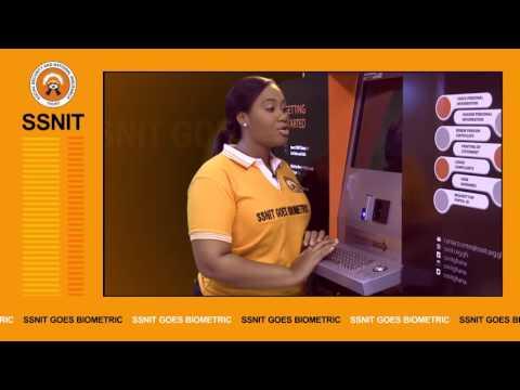 SSNIT Biometric Terminal (BT)