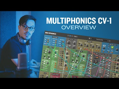 Multiphonics CV-1 modular synthesizer overview