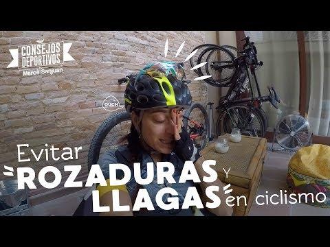 Evitar (y curar) llagas y rozaduras en ciclismo