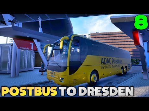 Fernbus Coach Simulator Let's Play - Postbus - Erfurt to Dresden - #8