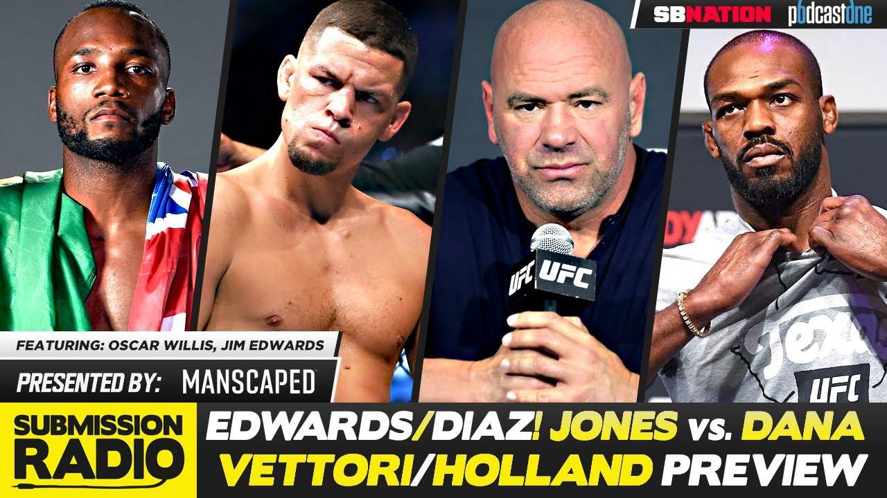BREAKDOWN: Diaz/Edwards, Vettori/Holland, How Much Leverage Does Jon Jones Have?, Volk/Ortega TUF 29