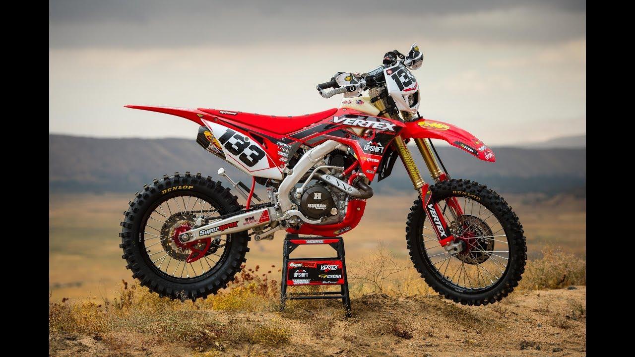 Upshift Project Bike: 2018 Honda 450RX - YouTube