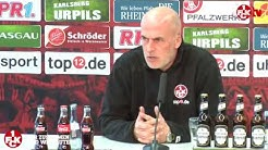 Pressekonferenz zur Vorstellung von FCK-Cheftrainer Michael Frontzeck