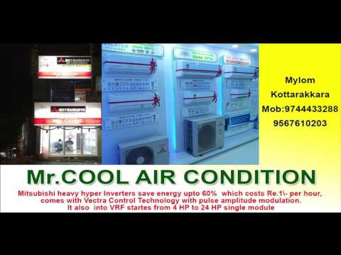 Mitsubishi heavy industries heavy duty air conditioner in kollam district
