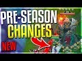 NEW PRE-SEASON/SEASON 9 CHANGES!!! New Towers, Custom Runes, New Laning & MORE! - League of Legends