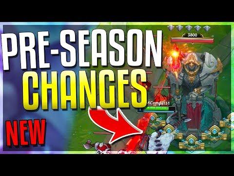 NEW PRE-SEASONSEASON 9 CHANGES New Towers Custom Runes New Laning & MORE - League of Legends
