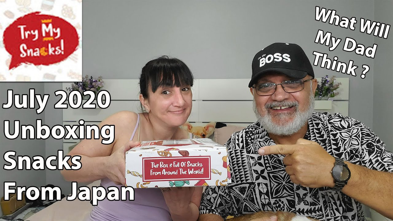 Try My Snack Unboxing | July 2020 | Snacks From Japan