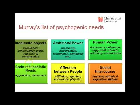 Lecture 5: Needs, motivations and consumer behaviour