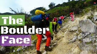 Mt. Apo The Boulder Face - Sibulan Trail 2017
