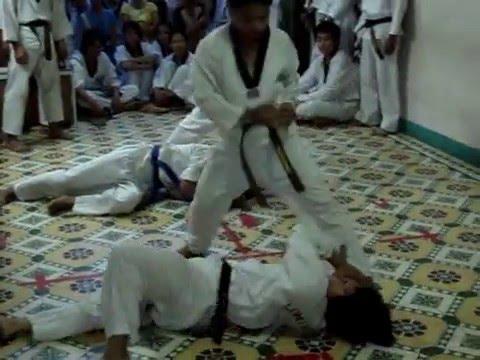 Taekwondo ITF Demonstration ( Long Hổ Võ Quán - Đà Nẵng ) [HQ]