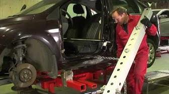 Expandable collision repair system Autorobot B5