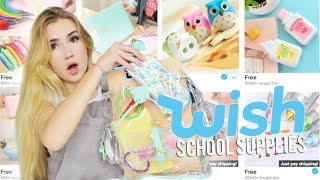 In today's video we are trying school supplies from wish.com!! I post new video's Fridays & Sundays & sometime's Tuesdays! Subscribe here http://bit.ly/2FMI05q  Instagram:  @miamaples Snapchat:  @miamaples Twitter:  @ivorygirl48