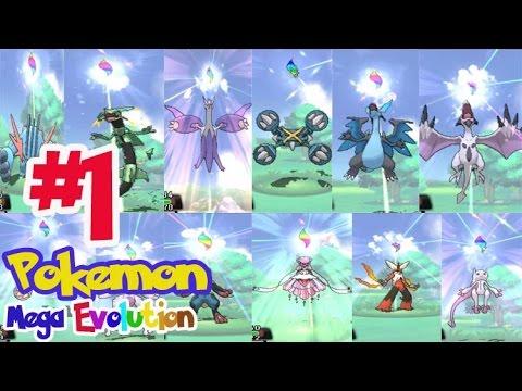 Pokemon Mega Evolution #1 โปเกม่อนเมก้าที่เคยมีอยู่แล้ว !