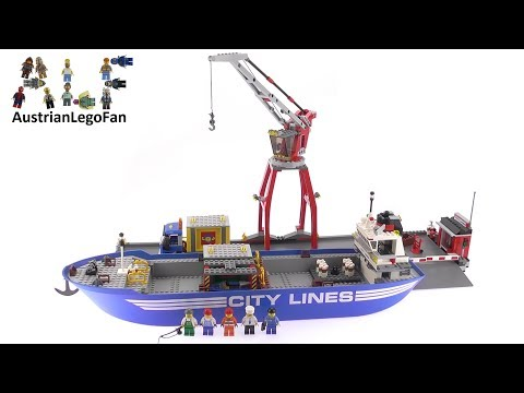 Lego City 7994 City Harbour - Lego Speed Build Review