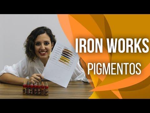 Pigmentos micropigmentação #iron works