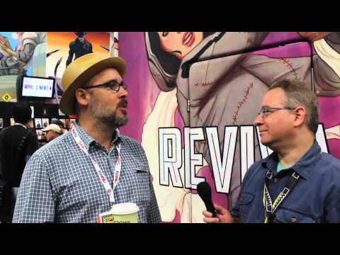 Ed Brubaker talks Velvet - CB at SDCC 2013