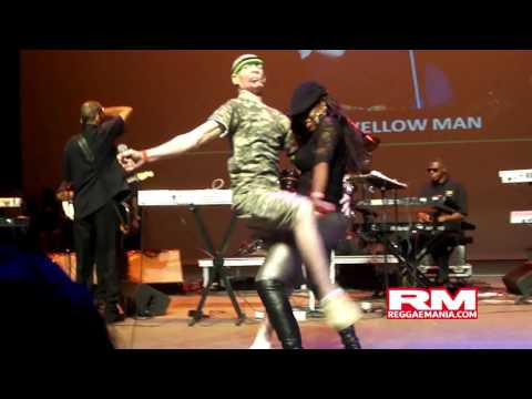JA Riddims John Holt Marcia Griffiths Yellowman Beenieman @ Sony Centre 06 28 12