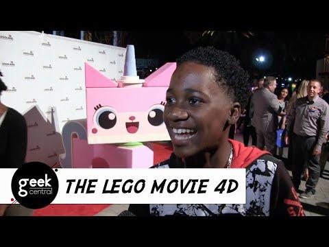 """The LEGO Movie 4D A New Adventure"" Premiere & Interviews at LEGOLAND California"