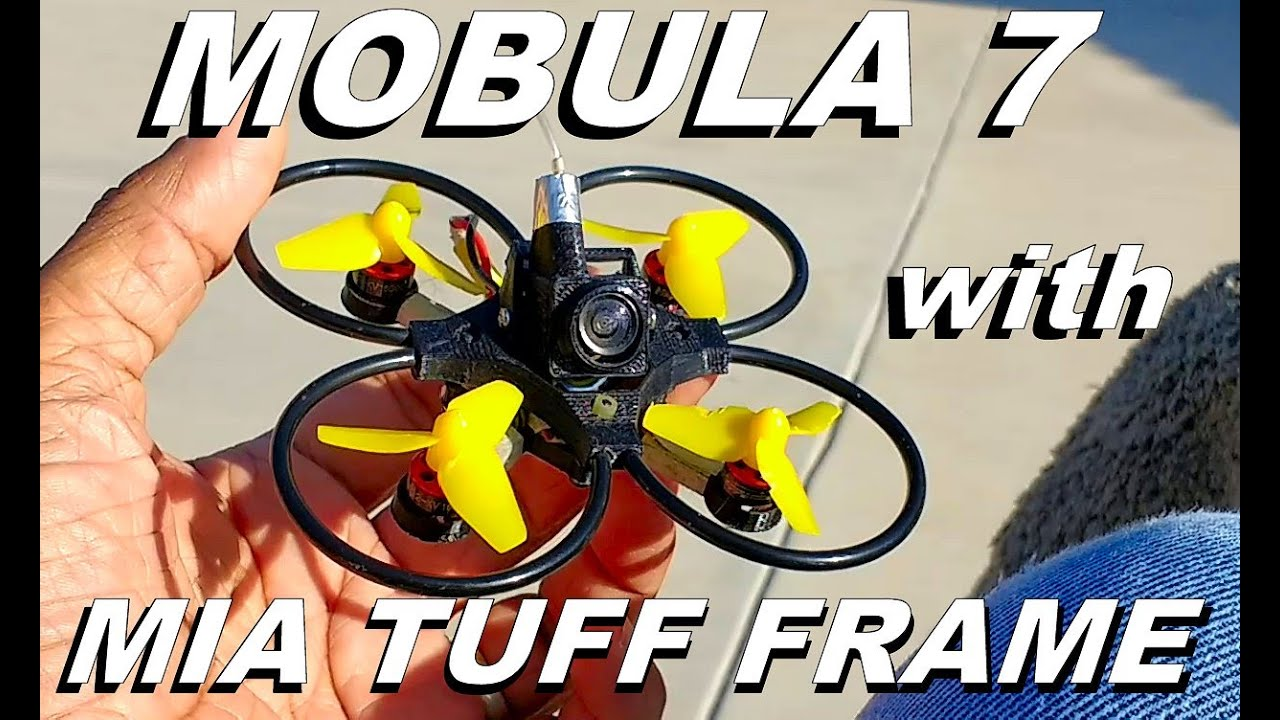 Mobula 7 with MIA TUFF Upgrade Frame Preview