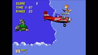 Sonic the Hedgehog 2 - Sky Chase Zone (Modo/Reto Pacifista)