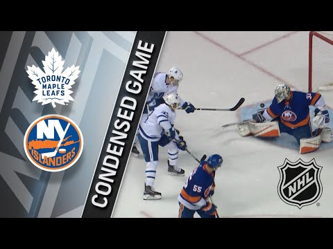 03/30/18 Condensed Game: Maple Leafs @ Islanders