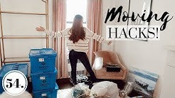 OUR MOVE HAS BEGUN!! | Moving Hacks + Tips