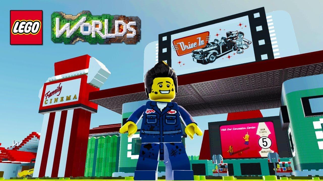 Lego Worlds Brick Build Showcase