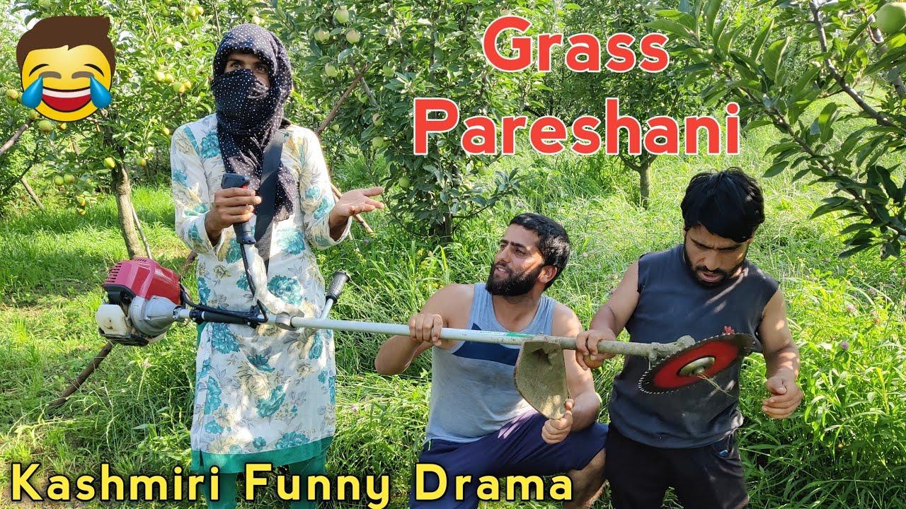 Grass  Pareshani   Kashmiri Funny Drama