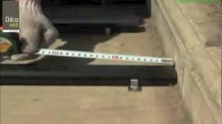 Comment installer les lames de terrasse composite ? - Decoweb.com