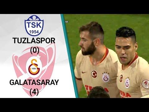 Tuzlaspor 0 - 4 Galatasaray MAÇ ÖZETİ (Ziraat Türkiye Kupası 5. Tur Rövanş Maçı)
