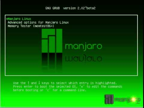 Manjaro-GRUB