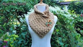 How To Crochet A Cowl | Sugar Smacks | Bag o day crochet tutorial #626