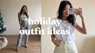 Holiday Outfit Ideas 2020 | Rhea Bue