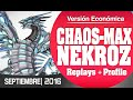 Budget Versions | Blue-Eyes Chaos MAX Nekroz (SEPTEMBER) 2016 / (Post Movie Pack)