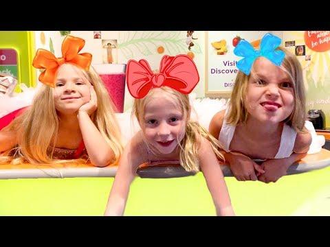 Настя и друзья отправились в путешествие по Америке - Видео онлайн
